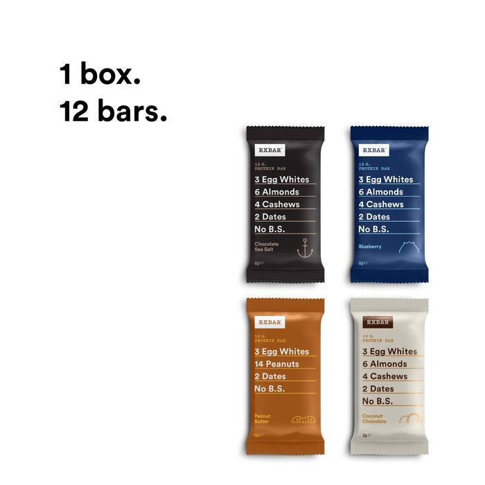 RXBAR Protein Bar – Variety Pack
