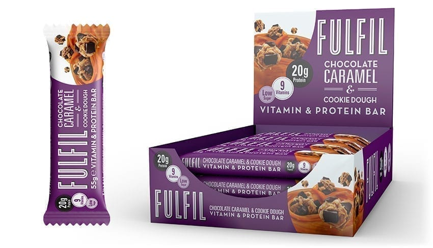 Fulfil – Chocolate Caramel & Cookie Dough Review