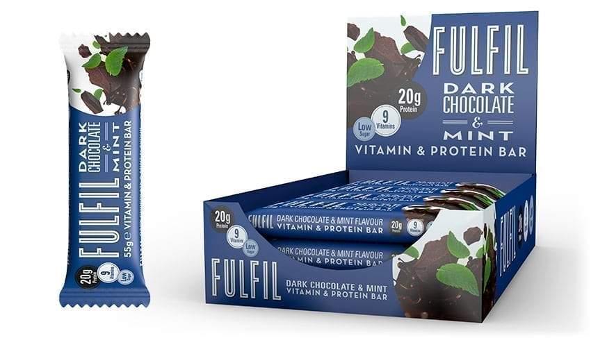Fulfil – Dark Chocolate & Mint Review