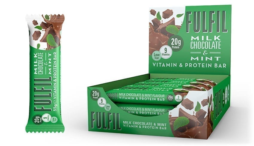 Fulfil – Milk Chocolate & Mint Review