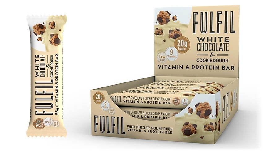 Fulfil – White Chocolate & Cookie Dough Review
