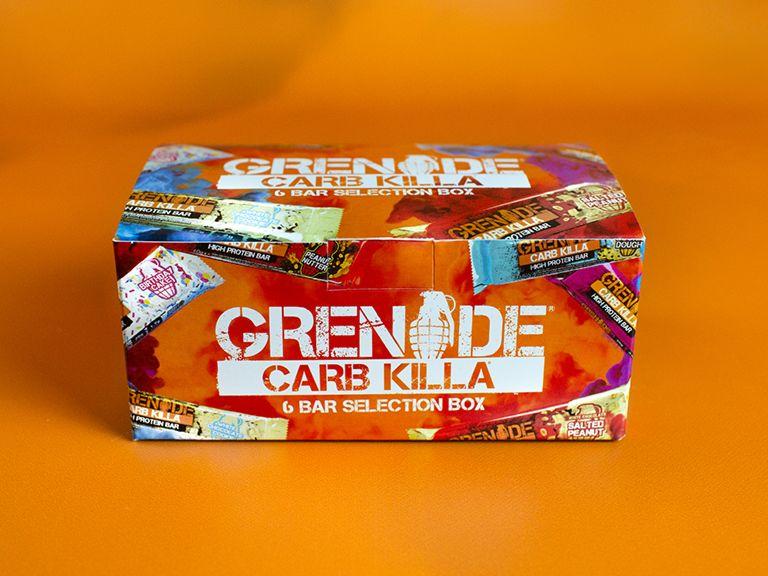 Grenade Carb Killa – 12 Bar Selection Box Review