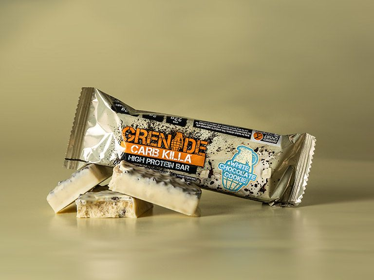 Grenade Carb Killa – White Chocolate Cookie Review