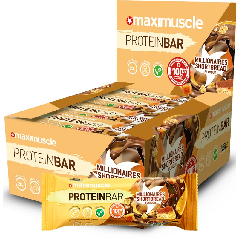 Maximuscle Protein Bar – Millionaire Shortbread Review