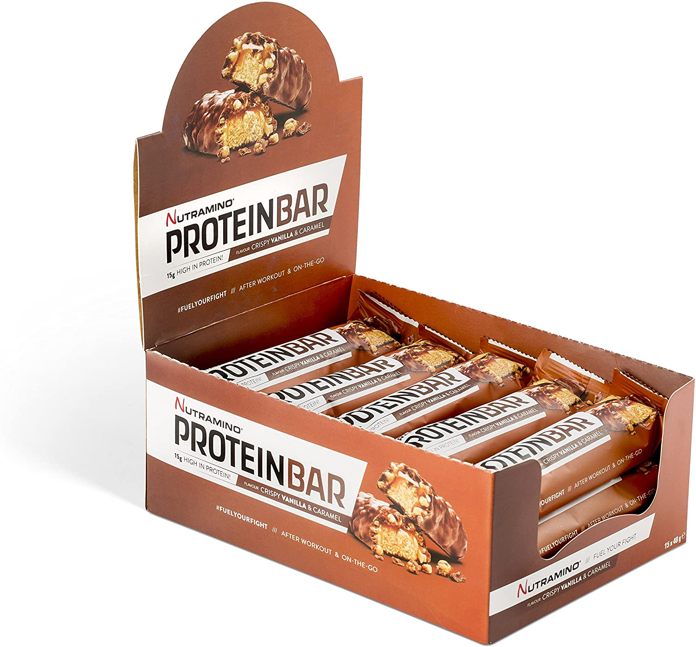 Nutramino Protein Bar – Vanilla and Caramel