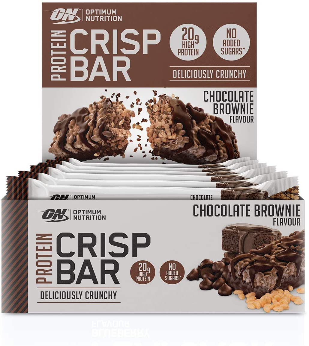 Optimum Nutrition Protein Crisp Bar – Chocolate Brownie