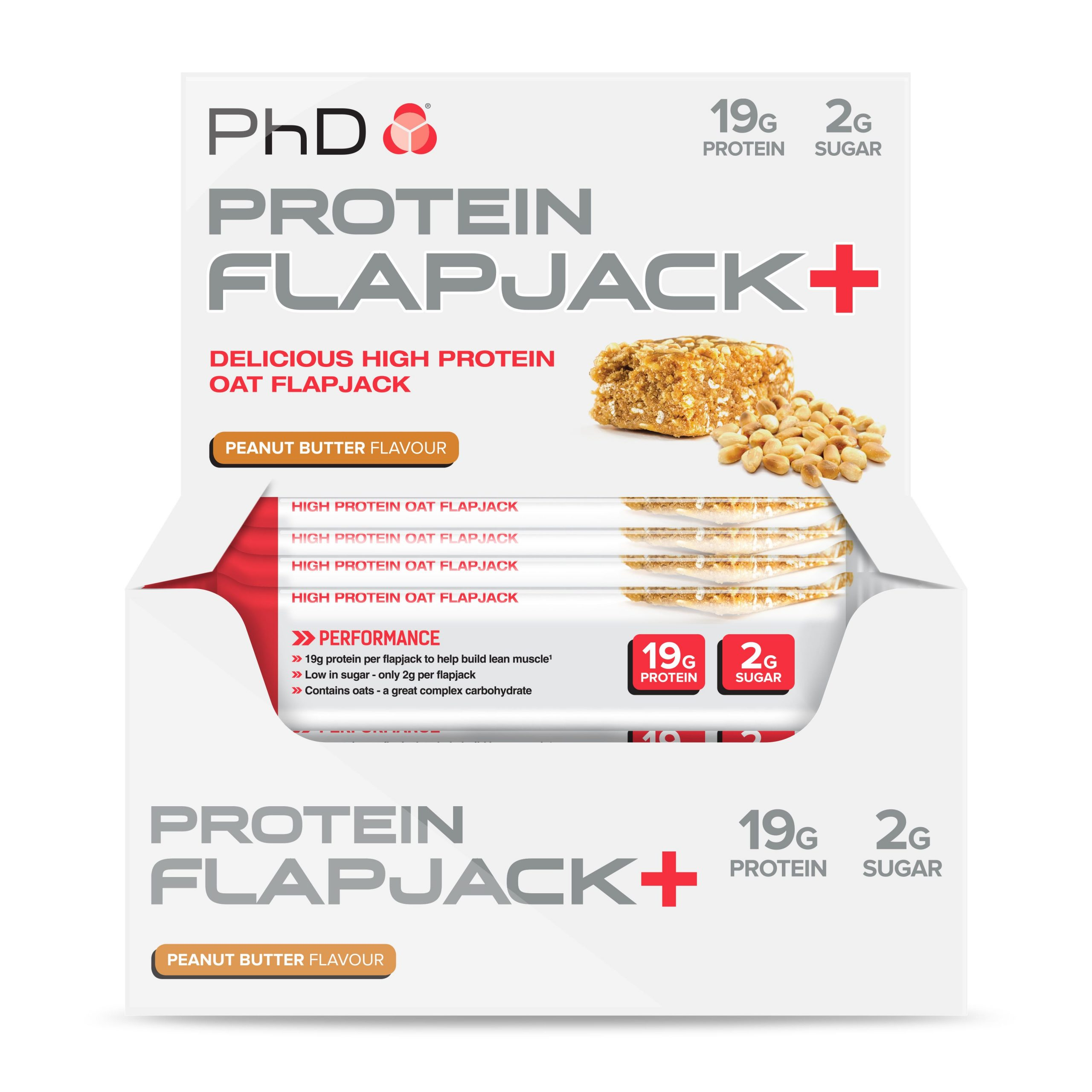 PHD Protein Flapjack+ – Peanut Butter