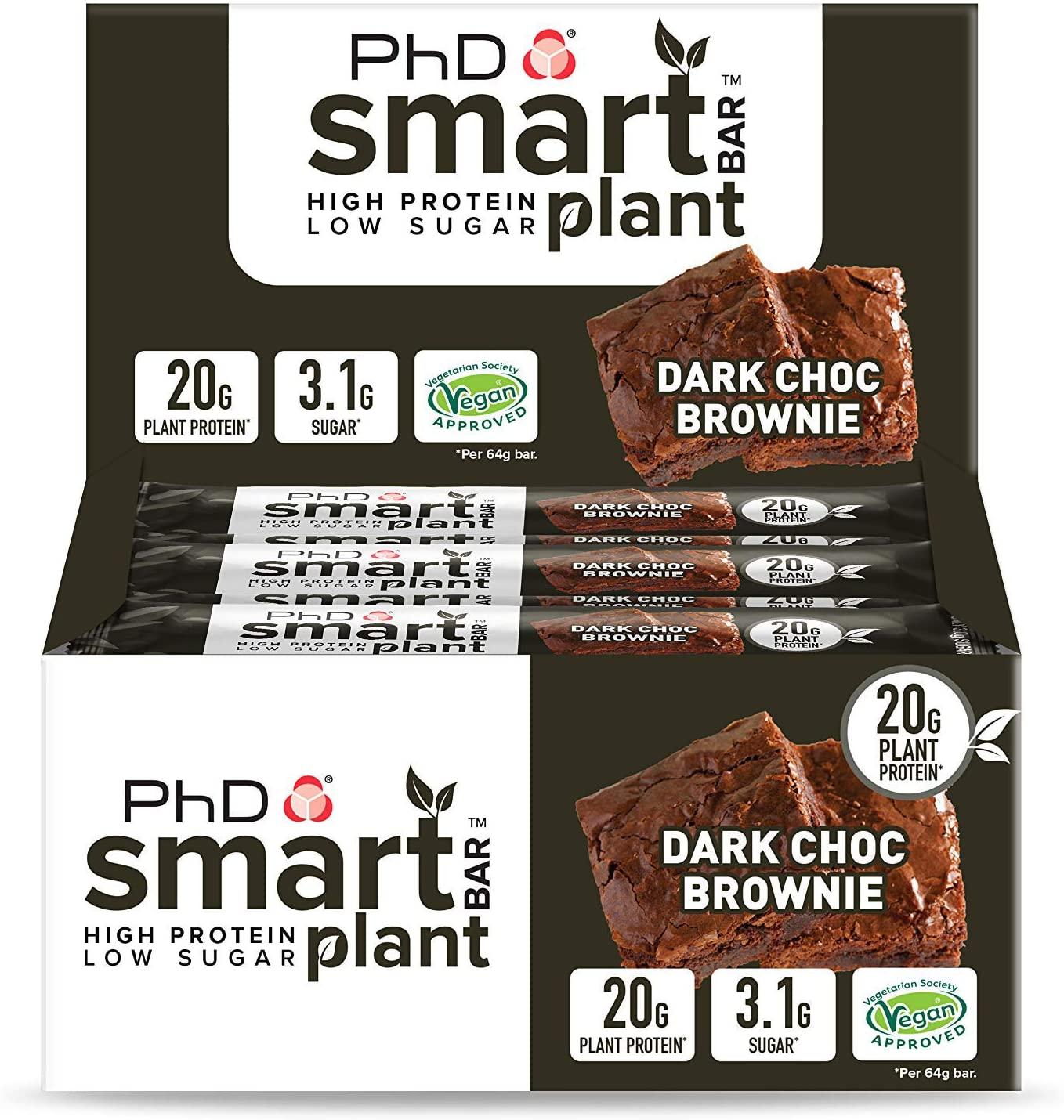 PHD Smart Bar Plant – Dark Choc Brownie