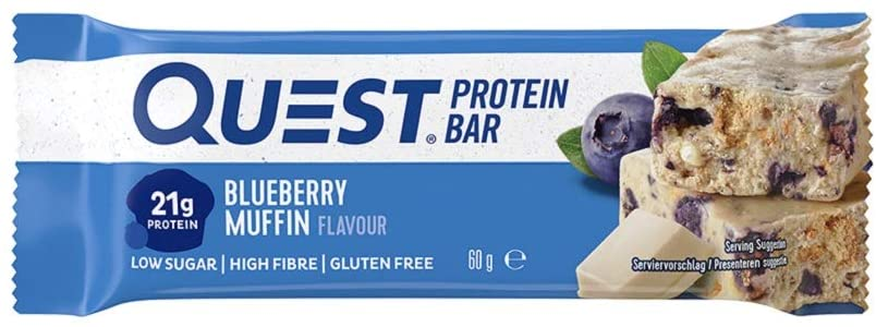 Quest Protein Bar – Blueberry Muffin Review