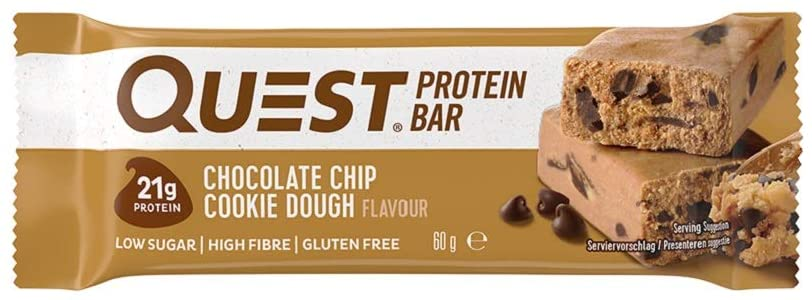 Quest Protein Bar – Chocolate Chip Cookie Dough Review