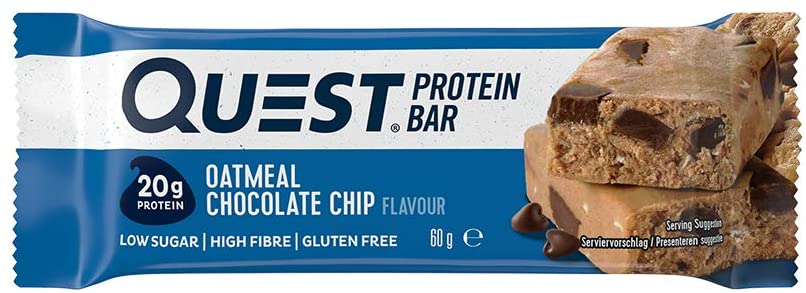 Quest Protein Bar – Oatmeal Chocolate Chip Review