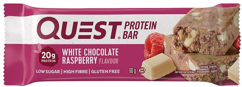 Quest Protein Bar – White Chocolate Raspberry Review