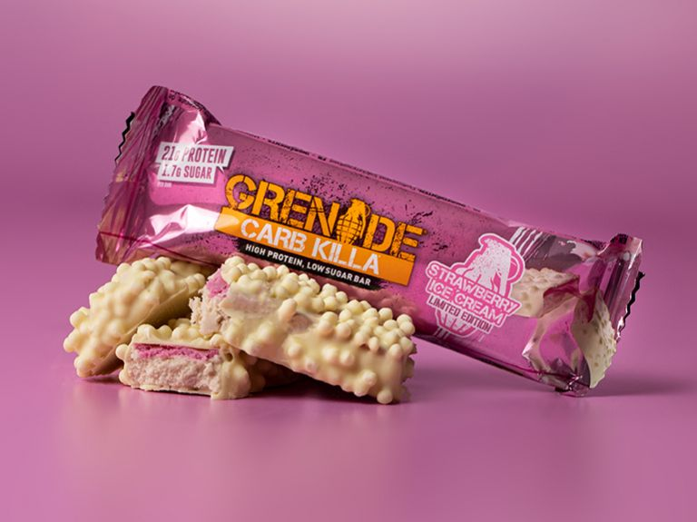 Grenade Carb Killa – Strawberry Ice Cream Protein Bar Limited Edition Review