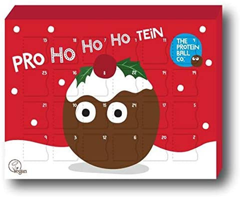 The Protein Ball Co. Vegan Protein Christmas Advent Calendar